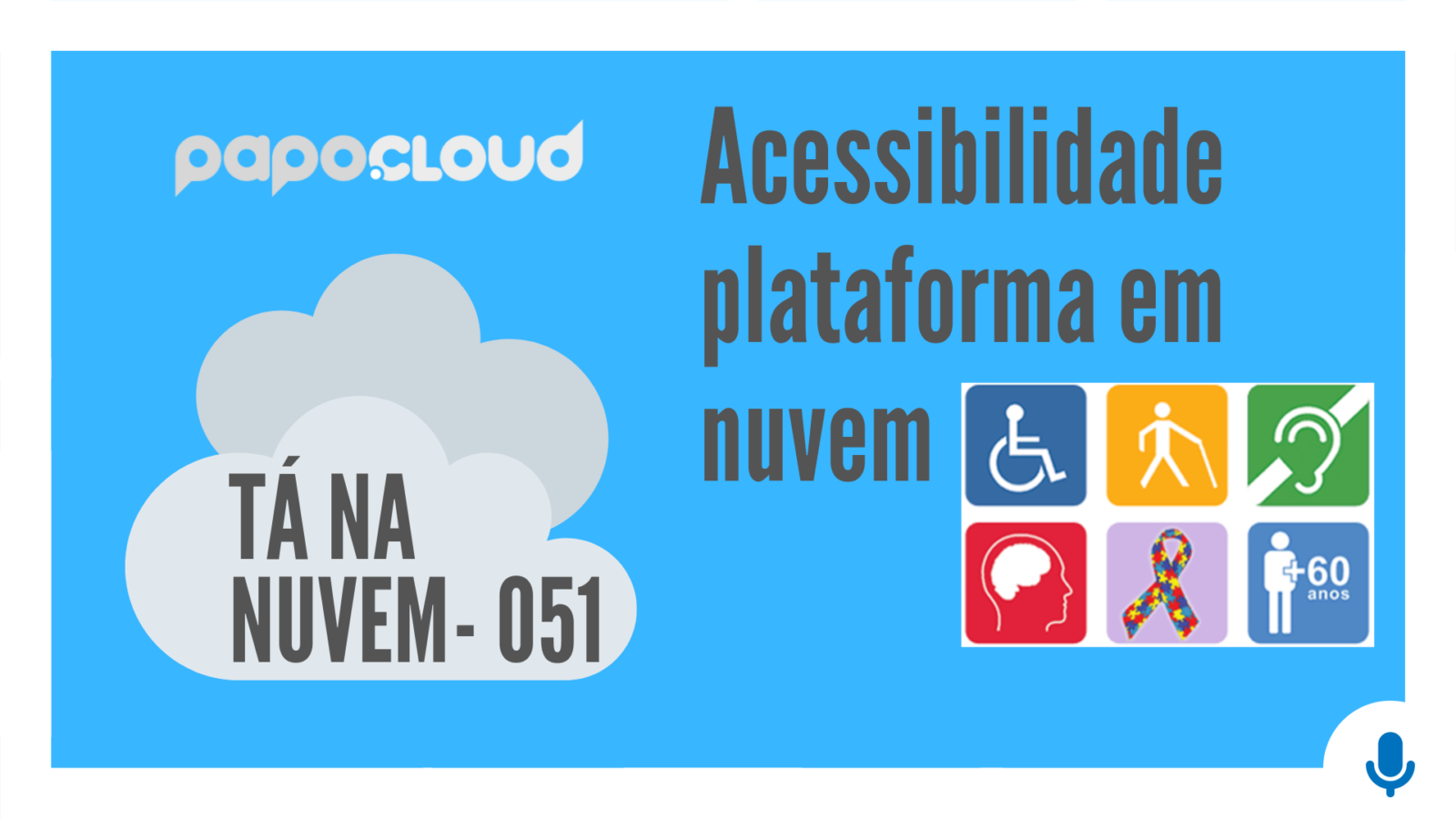 Tá Na Nuvem 051 - Acessibilidade plataforma em nuvem